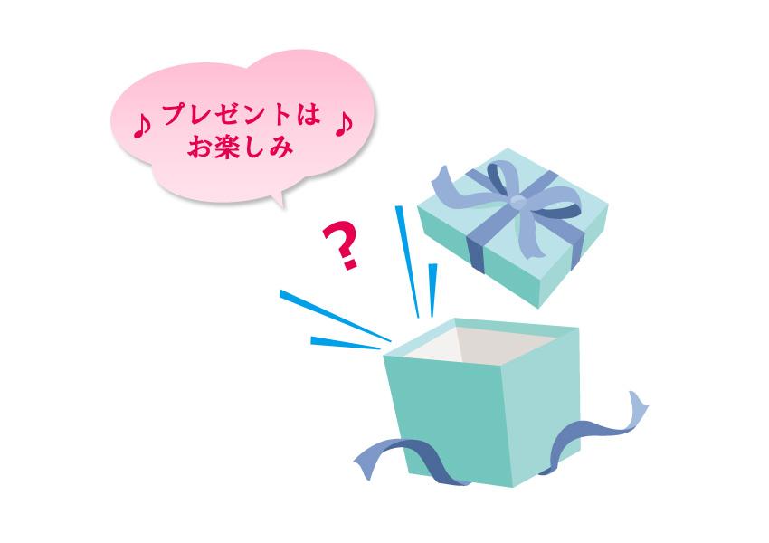 プレゼントお楽しみ